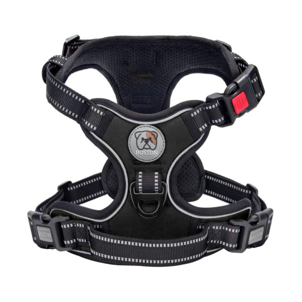 Boston Anti-Pull Dog Harness 2.0 - Black