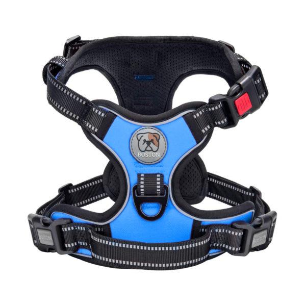 Boston Anti-Pull Dog Harness 2.0 - Blue