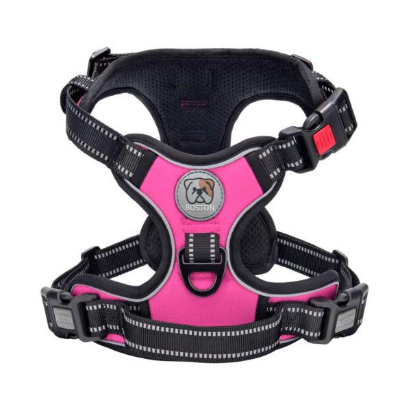 Boston Anti-Pull Dog Harness 2.0 - Pink